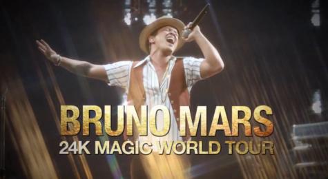 Bruno Mars Rocks the Garden!