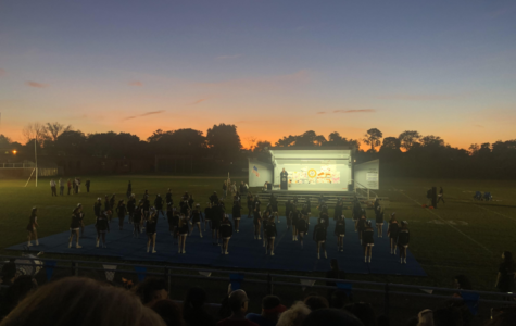 Cheering On Our Athletes at Pep Rally!