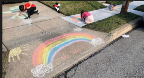 Hope in Chalk Art