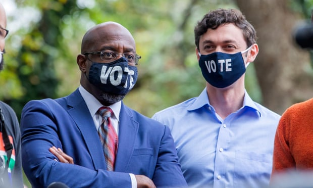 Reverend Raphael Warnock and Jon Ossoff are the Democratic candidates in Georgia's runoff Senate elections scheduled for January 5th.