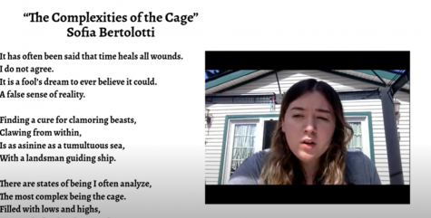Poetry Madness Winner Sofia Bertolotti